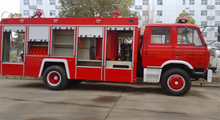 China Fire Truck Manufactures For New Dongfeng 153 190hp Fire Fighting Truck 6ton Sale
