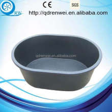 Large Capacity Plastic Water Bucket Plastic Feed Tub for animal