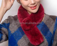 The Lastest Design Fur Scarf Shawl / Rex Rabbit Fur Scarf