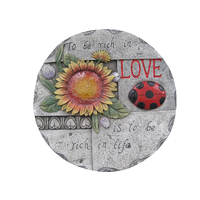 Spoontiques SUN Flowers Decorative Garden Stepping Stone