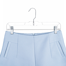 Clear Plastic Pant Laundry Hanger with Clip
