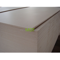 4x8 melamine laminated 17mm mdf board raw MDF sheet price
