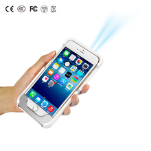 Micro Phone Pocket Projector Proyector Power Bank LED Video Sync Portable Projector for iPhone Pico Mini Projectors Factory Gift