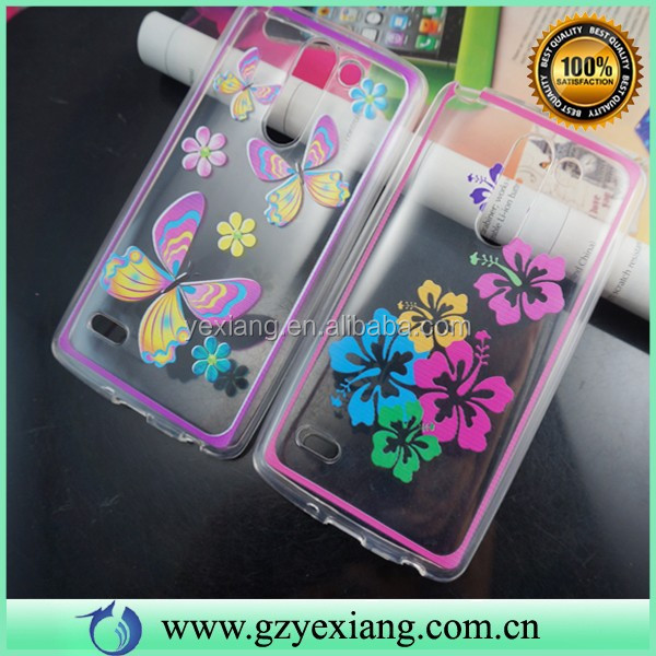 Clear Design Soft TPU Protective, Case For LG G3 Stylus Cover Shell