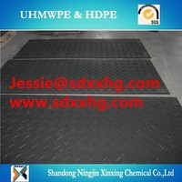 Power Plates /Running Boards/uhmwpe ground protection mat