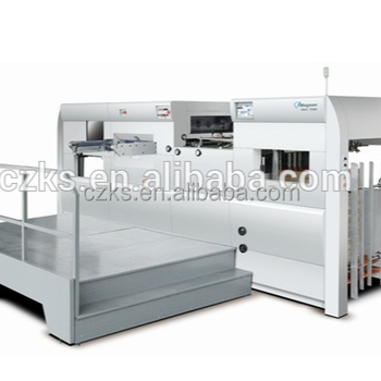 2018 new style in Dongguang 1060 Automatic Flat bed Die cutting machines