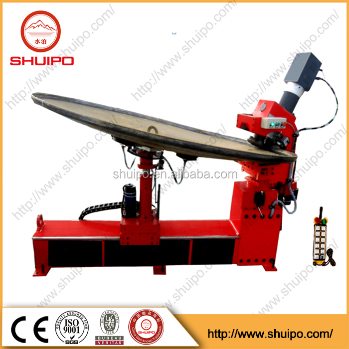 Top Quality Tank Head Edge Folding Flanging Machine dished head machine from shuipo