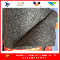 Collar bottom interlining Needle punched fabric nonwoven fabric