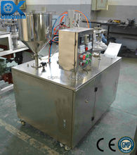 Guangzhou semi-auto liquid foundation tube filling and sealing machine