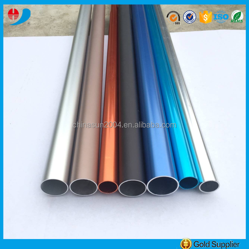 Factory Price colored aluminum tubing