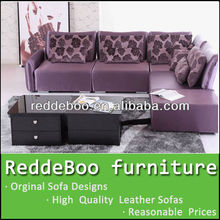 The insinuante sofa set purple leather sofa/purple leather sofa