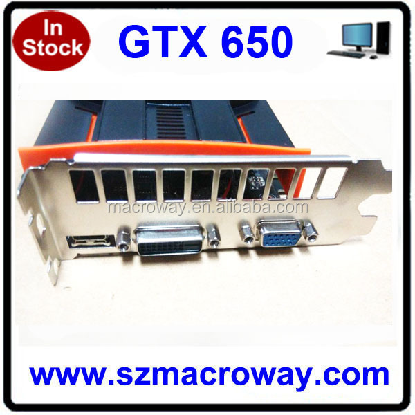 DDR5 128Bit Video Card For Desktop Computer With 1G Memory Ge Force GTX650TI