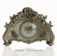 Hot sell table clock classic bedside table clock new design antique table clock