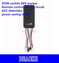 accurate manual sim card imei activation gt06AB gps tracker remotely shutdown vehicle