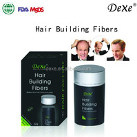 Dexe organic temporary hair make up products, Mini Hair Fiber with private label
