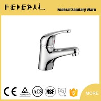 Fashion design automatic basin faucet single handle mixer tap toilet brass torneira