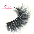 100% siberian naked band real mink fur lashes