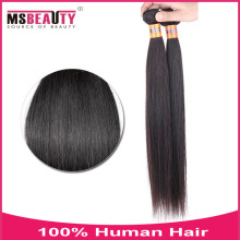 Msbeauty Goods New Style Sliky Straight Natural Color Human Hair, Top Quality Grade 8A Remy Hair Extension