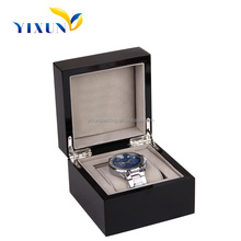 Luxury Paper/Wood Watch box Case With Pillow For Display