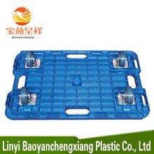 120 x 120 heavy duty Durable disposable plastic pallet With Wheels For Sale