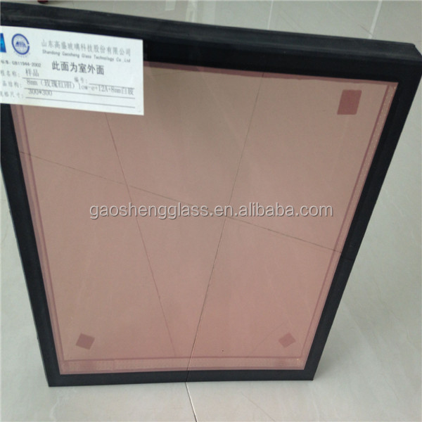 Hot sell 16 - 50mm thickness insulated glass for curtain wall from China