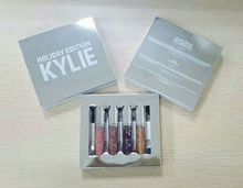 Kylie jenner Cosmetics holiday collection limited edition mini matte set of 4 Lipstick