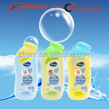 Natural Baby Hair & Body Wash OEM Service