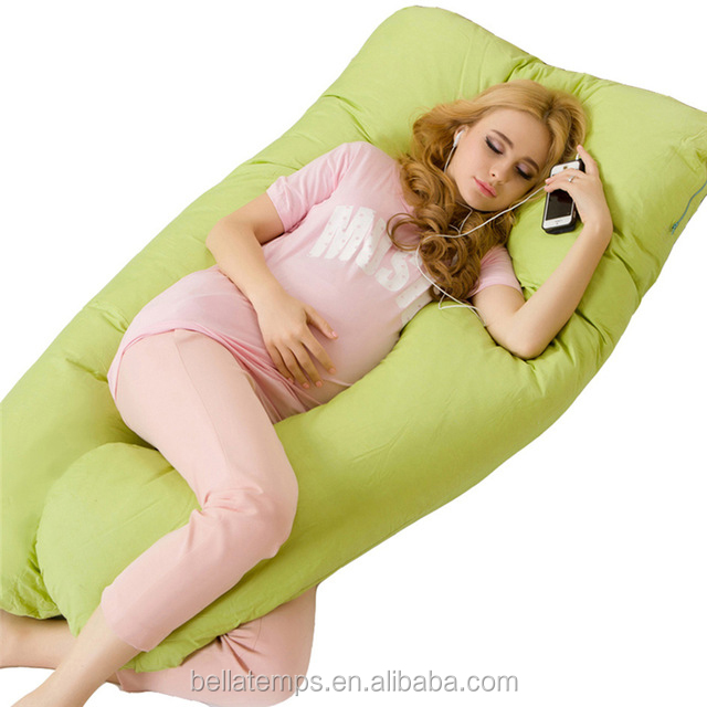 Hot Selling Oversized Wholesale <strong>U</strong> Shaped Pregnant Maternity Full Body Pillow for Pregnancy Women