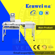 33kV conveyor belt weight check weigher for food industry pre-made bags packaging machinery