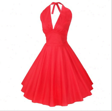EY0176D 2015 Hot Photo Red Rockabilly 50s Belted Polka Lace Vintage Retro Party Swing Evening Prom Dress for women