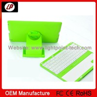china new products 2014 ! wireless mini keyboard bluetooth rohs for ipad 2/3/4 with 360 degree rotation