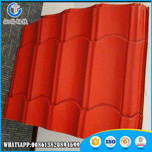 Roof Application good Prepainted Color Coated Corrugated Steel Sheet /Plate