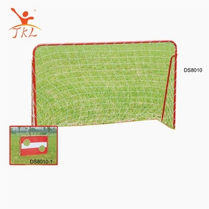 Custom made folding mini soccer goal, folding football goal with target