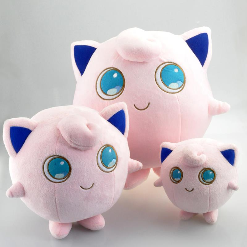 Kawaii Nintendo Pokemon Plush Toy Doll 14cm/24cm/30cm Jigglypuff Stuffed Plush Toys Figure Doll Gifts for Children Free Shipping