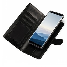 Detachable 2 in 1 Magnetic Leather Case For Galaxy Note 8 Crazy Horse Leather Wallet Cover For Samsung Note 8