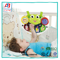 2017 Hot electrical baby musical instrument set toys with projector