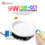 Gledopto 16 Million Color Changing Brightness RGBCCT 2.4g Rf Remote Control Wifi Smart Led Downlight with Anto-transfer Function