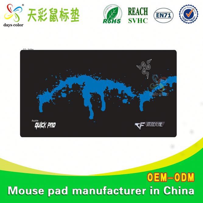 Picture Insert Mouse Pads Nature Rubber Backing Yoga Mat Supplier