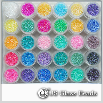 Rocailles Beads of Different Size & Colors