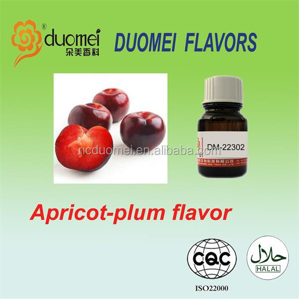 Apricot plum flavors, flavour, flavors of carbonated drinks