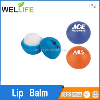 cute lip balm container roller ball lip balm ball lip balm container made in China