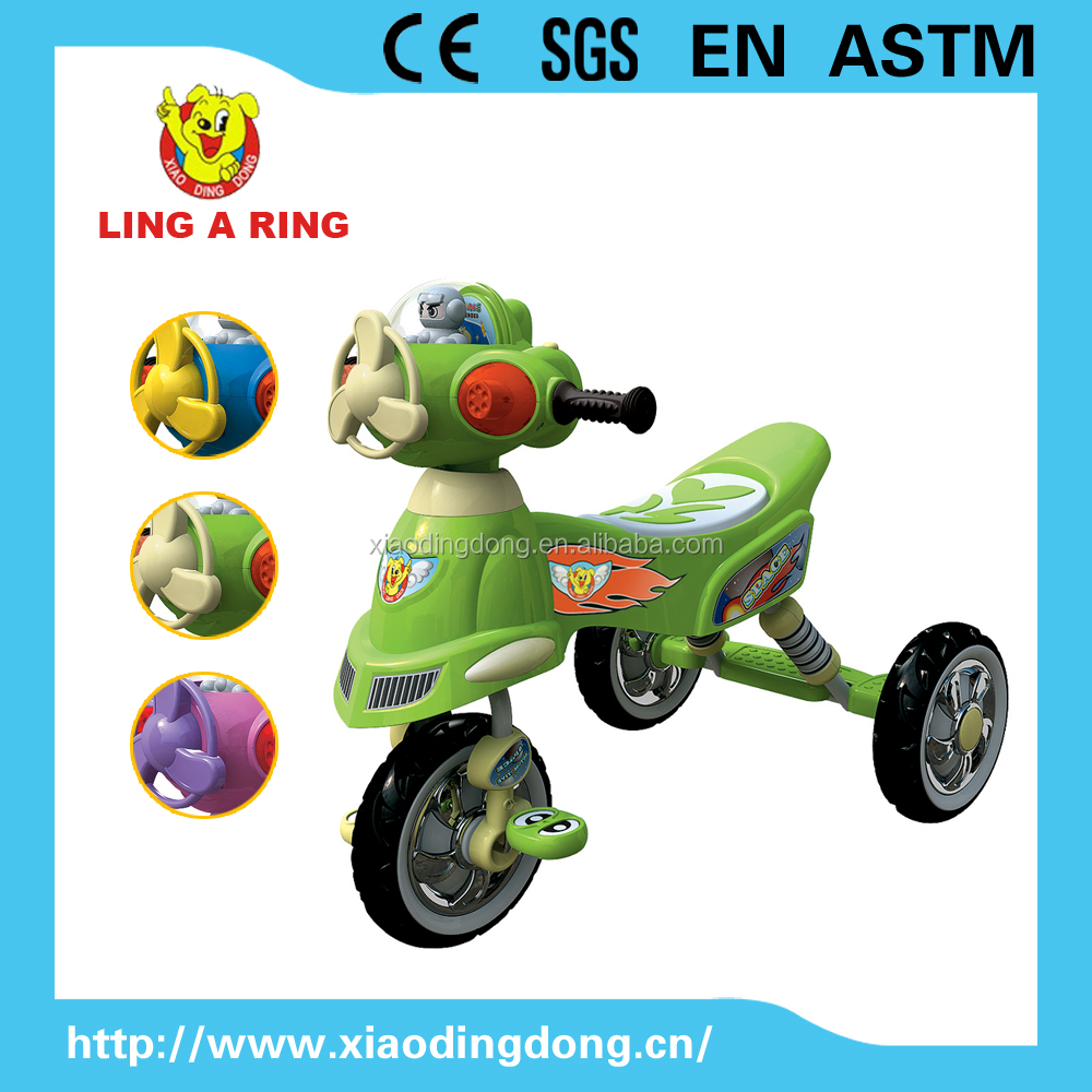 Newest small cheap baby tricycle with music and light Hot sale children tricycle High quality baby trike