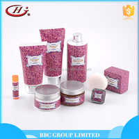 BBC lady Gift Sets Suit 005 Customized cheap pink moisturizing bath and body care set