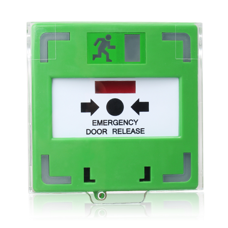 3 Pole Key Reset Emergency Door Release Call Button For Access Control System