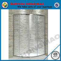 Luxury Security arc lowes shower enclosure 3 doors sliding shower door