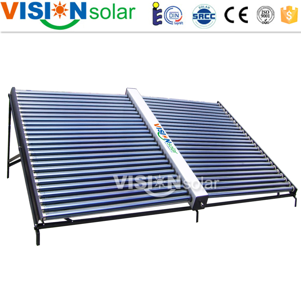 Most Economical Horizontal Vacuum Tube Solar Collector
