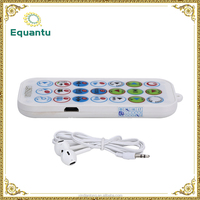 300mAh battery digital remote control quran mini bluetooth mp3 player