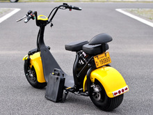 High quality harley / citycoco electric scooter 2 seats battery remove electric scooter electric mobility scooter
