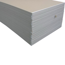 Factory picture of gypsum board