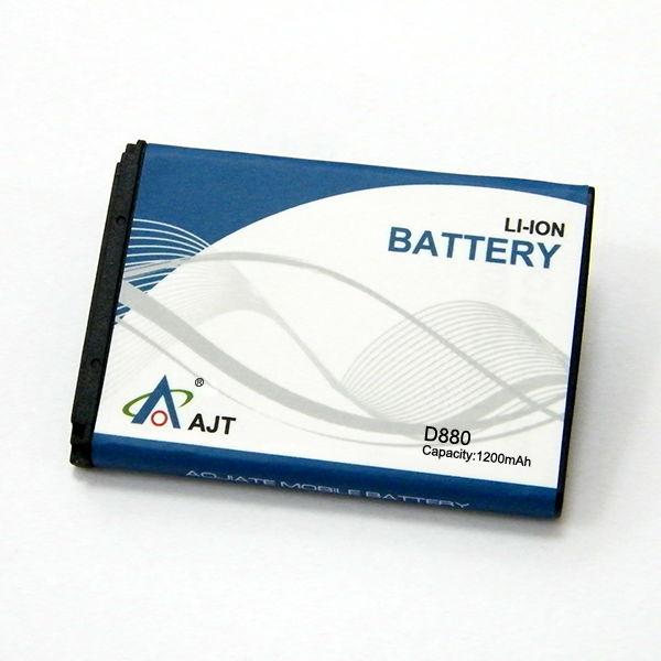 Aojiate mobile phone batteries 1200mah D880 D888 D980 D599 W618 W629
